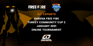 Garena Free Fire Turkey Community Cup 2 January 2021 Online Tournament