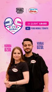 PUBG Mobile Sevgililer Günü Özel Etkinlikleri Türkiye'de Büyük İlgi Gördü